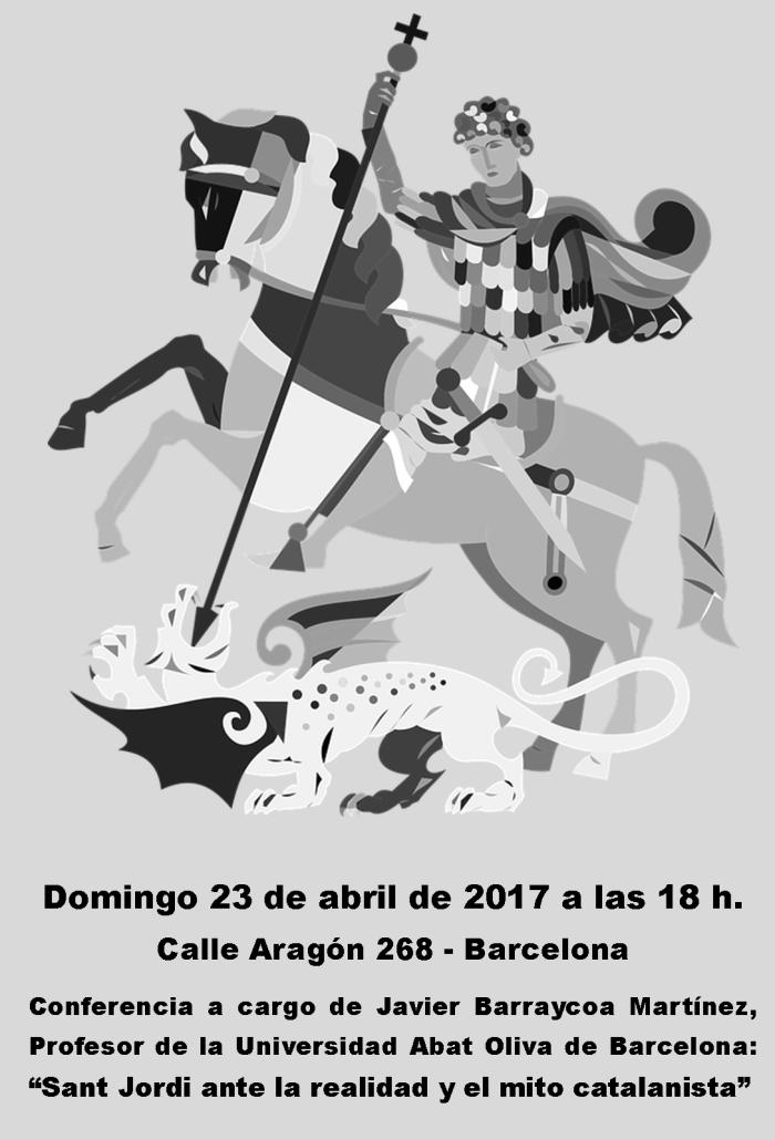 Conferencia Sant Jordi 23.04.17 Bcn