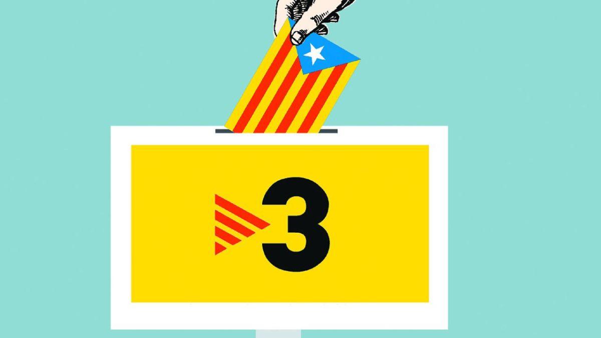 """""""TV3, el portaviones adoctrinador, de nuevo en marcha"""""""