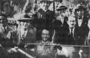 Grupos nacionalistas apoyo golpe 1930
